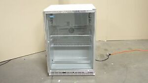 Marvel Scientific 6 1 Cubic Foot Glass Door Refridgerator Model 6car