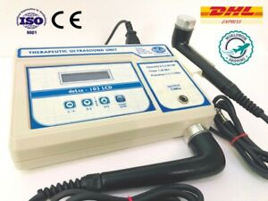 Ultrasound Physical Therapy Machine Knee Pain Relief 1 3 Mhz With Dual Heads