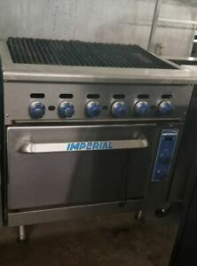 Imperial Radiant Broiler With Convection Oven Ir 36br c