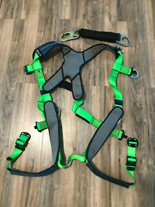 Dbi Sala I Safe Intelligent Safety System Exofit Xp Harness Safety Strap Med