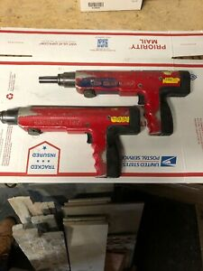 Lot Of 2 Red Head R300 Powder Actuated Tool