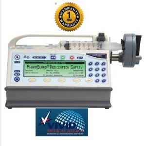 Medfusion 4000 Syringe Pump anesthesia Drug Library Certified One Year Warranty