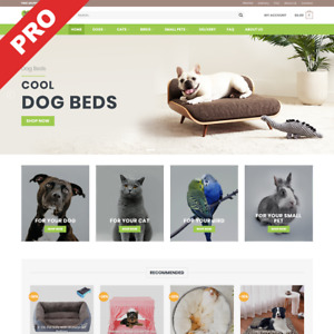 Pet Store Turnkey Dropshipping Business Premium Website For Sale