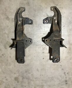 Fisher Minute Mount Snow Plow Push Plates Gm 7192