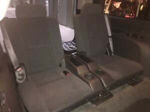 07 14 Chevy Suburban Tahoe Third 3rd Row Bucket Seats In Black