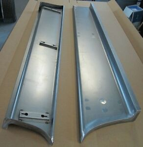 New 1953 Chevy gmc Truck 1 2 Ton Smooth Steel Running Boards Hot Rod Street