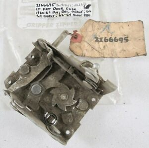 1960 1961 1962 1963 1964 Chrysler Dodge Desoto Plymouth Nos Driver Door Latch