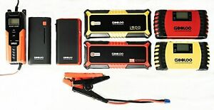 Gooloo Jump Starter Smart Charger Super Safe Quick Charge Choose Model Nib
