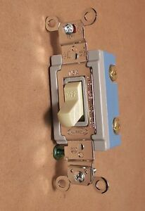 Hbl1202i Toggle Switch Hubbell Industrial Grade 120 277v Lot Of 10