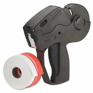 Monarch Marketing Pricemarker Labeler 1 Line With 2 Extra Label Rolls Charcoal