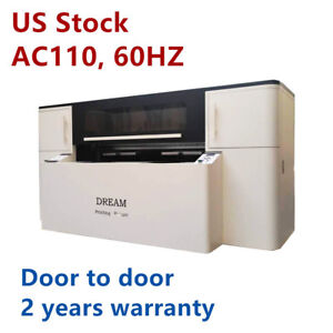 Usa 110v Double Station Direct To Garment Printer With Printing Heads