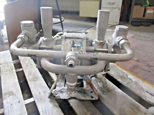 Graco 1 Stainless Diaphragm Pump 615908j Used