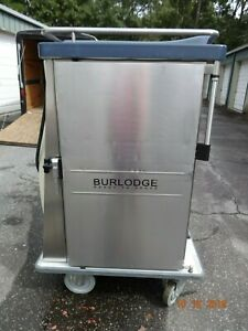 Burlodge Hot Cold Ready To Serve Powered Rolling Food Carts