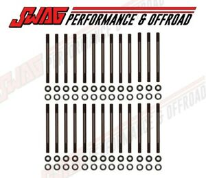 Cylinder Head Stud Kit For 98 5 18 5 9l 24 Valve 5 9l 6 7l Dodge Cummins Diesel