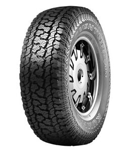 2 New Kumho Road Venture At51 All Terrain Tires Lt265 75r16 10ply Rated