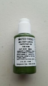 Matco Tool Box Paint Military Green Pant 150 41300