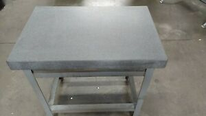 24 X 36 X 6 mojave grade A Precision Granite Surface Plate With Steel Stand