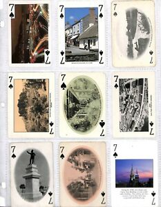 124 Diff. 7 Of Spades Playing Cards Collection Suffragettes Votes Cats Coca Cola