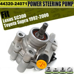 New Power Steering Pump For Lexus Gs300 Is300 Sc300 Toyota Supra L6 Gas