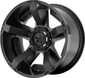 4 new 17 Xd Xd811 Rockstar Ii Wheels 17x9 5x5 5x127 12 Matte Black Rims