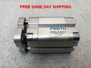 Festo Pneumatic Compact Cylinder Advul 25 20 p a Item 748593 o3