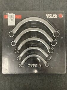 Matco Tools Curved Half Moon Wrench Set Metric Smhm5t