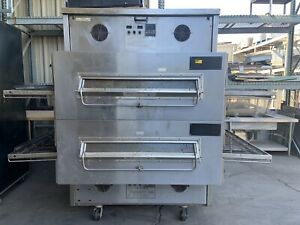 Middleby Marshall Ps360ewb 4 Double Stack Conveyor Pizza Oven