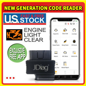 Automotive Obd2 Code Reader Scanner Car Check Engine Fault Diagnostic Tool Us