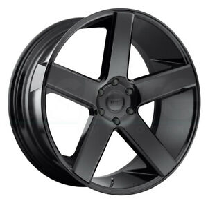 4 new 28 Dub S216 Baller Wheels 28x10 5x115 13 Gloss Black Rims