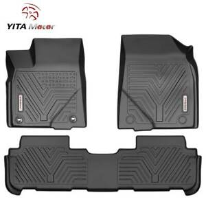Yitamotor Floor Mats Liner For 2014 2020 Toyota Highlander All Weather 3pcs Set