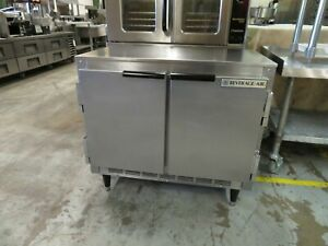 Beverage Air Ucr34 Undercounter Refrigerator Two section 34 w Shallow Depth
