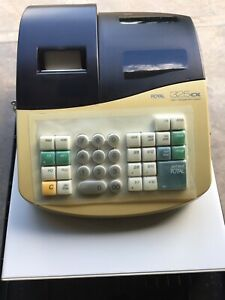 Royal Cash Register 325cx With Key Nice Working Condition