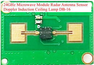 24ghz Microwave Module Radar Antenna Sensor Doppler Induction Ceiling Lamp Db 16