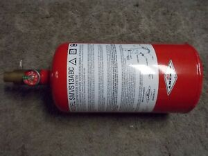 Discharged Amerex Vehicle Fire Suppression System Bottle Only Smvs13abc 17276
