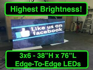 3 x6 Double Sided P10 Series Programmable Full Color Outdoor Digital Led Sign