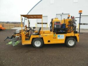 2005 Tug Kelly creswell Wv120 al Diesel Highway Line Paint Striping Truck