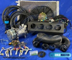 A C Kit Universal Underdash Evaporator 404 0fbsl New W Electrical Harness
