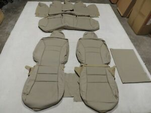Leather Seat Covers Interior Replacement Fits Honda Accord Lx 2013 2017 Tan X28