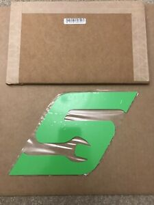 Snap On Large Tool Box Badge In Green Steel Magnetic New