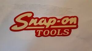 2 New Snap On Tools Vintage Decals