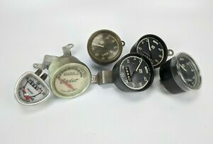 Stewart Warner Speedometer Lot Cadet Huret 824543 Cycle Bike Bicycle Vintage