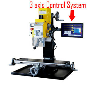 Wmd25v 750w Multi function Drilling Milling Machine 3 axis Readout System 220v