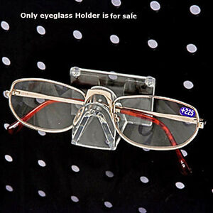 Clear Molded Plastic Eyeglass Holder For Pegboard Case Of 25