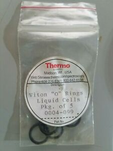 Thermo Scientific Viton o Rings For Liquid Cells Qty 5 Part No 0004 099