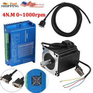 Hss86 Hybrid Servo Driver Nema34 Closed loop Stepper Servo Motor 4n m