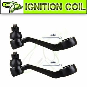 New Front Pitman Arm 2x Suspension Suspension Kit Fits 1986 91 Toyota 4runner