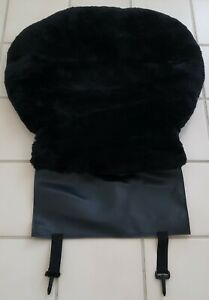 Sheepskin Seat Cushion Black Color Only 1 Piece high Quality