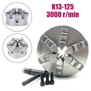 6jaw 125mm Lathe Chuck 5 Self centering Step Jaws Metal Lathe Tool Accessory