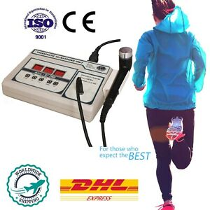 Ultrasound Therapy Personal 1 Mhz Therapeutic Deep Heat Physical Therapy Hgk