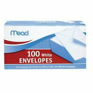 Meadwestvaco 75100 3 5 8 X 6 1 2 6 3 4 Security Envelopes 100 Count